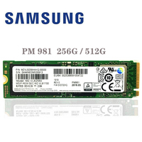 SAMSUNG SSD M.2 PM981 256GB 512GB Solid State Hard Disk M2 SSD NVMe PCIe 3.0 x4 NVMe Laptop Internal disco duro TLC PM 981 256G