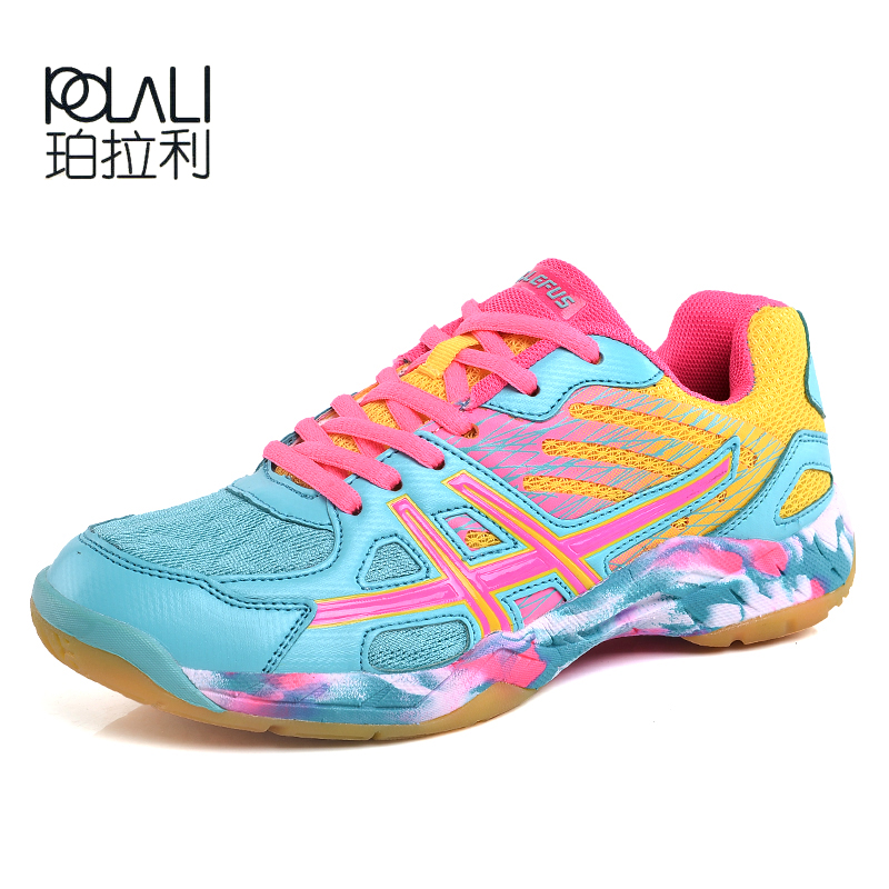 Shoe Sneakers Volleyball-Shoes Cushioning Breathable Sports Women New Light Unisex Wear-Resistant