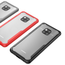 Hybrid Airbag ShockProof Clear Case for Huawei Mate 20 Pro Protective Hard PC+Soft TPU Cover Lite Capa