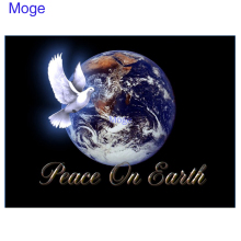 Moge 5D DIY Diamond Painting peace of earth  Dimaond Embroidery dove and home decor
