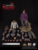 COO Model X Ouzhixiang Monster File Series 1:6 The Were Wolf Figure CM MF002