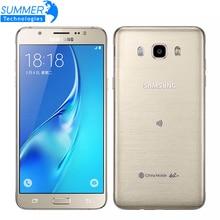 """Оригинальный samsung galaxy j7 j7108 octa ядро dual sim fdd/tdd lte мобильный телефон 3 г ram 16 г rom 5.5 """"13.0MP NFC Сотовые Телефоны"""