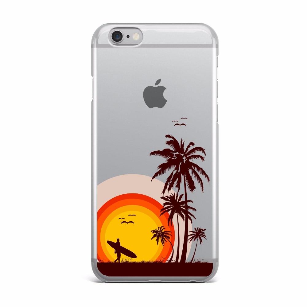 Frisk Sommer in Hawaii Strand bitte Telefon Fall Für Apple iPhone 6 6 s XS-12