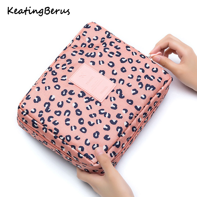 High Quality Multifunction Cosmetic Bag Women Toiletries Organizer Makeup Bags Waterproof Female Storage Make Up Cases