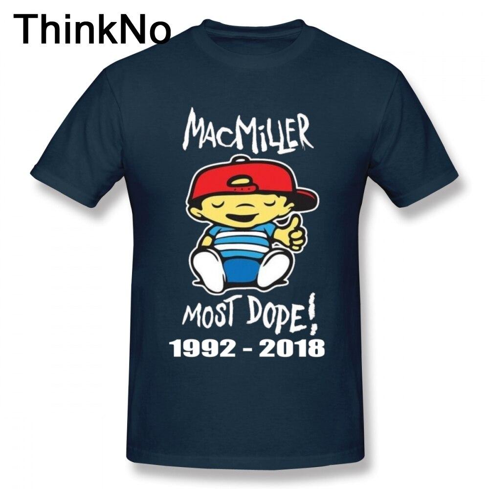 Men MOST DOPE Mac Miller T Shirt Cotton Homme Tee Shirt Hip hop T shirt Plus szie Hot sale New Arrival Футболка