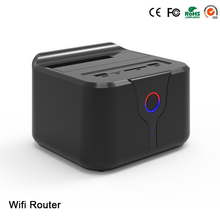2017 hot sale New plastic hdd box usb 3.0 2.5″3.5″ SATA 6TB arrival all in one wifi router hdd docking station box free shipping