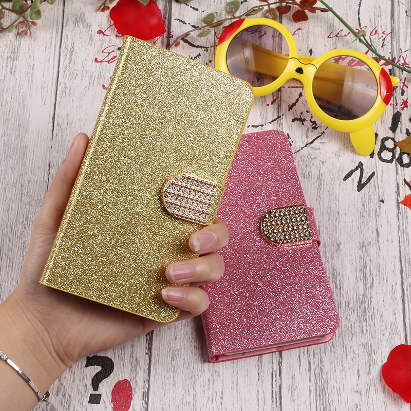 QIJUN Brand For Samsung Galaxy J7 Prime On7 2016 G610 Case Cover Luxury PU Leather Flip Phone Case Stand protection Shell Bag in Flip Cases from Cellphones Telecommunications