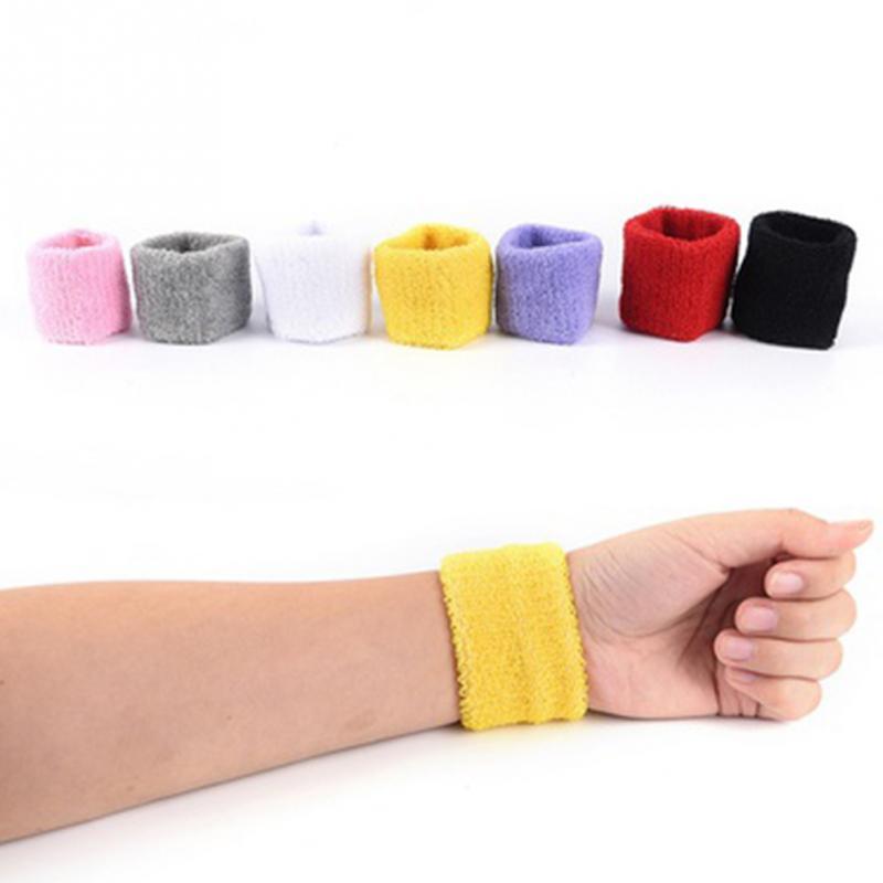 1PC Indoor outdoor Sport Warm Towel Sweatband Wristband Basketball Badminton Wrist Protector Running Brace Wrist Guard