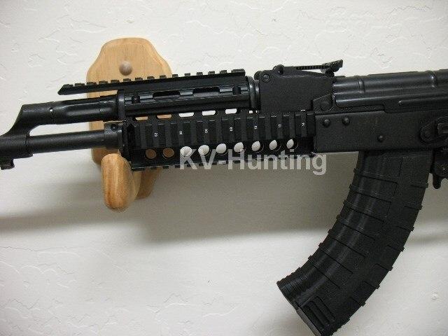 จัดส่งฟรี12ชิ้นปกAK47 AK74ยุทธวิธีQ Uadราง/ล่าสัตว์Handguardรถไฟ/ยิงRIS Q Uadรถไฟภูเขาอุปกรณ์เสริม