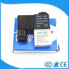 """Пневматический воздушный 2 Way 2 Позиция 1/"""" электромагнитный клапан Airtac 2V025-08"""
