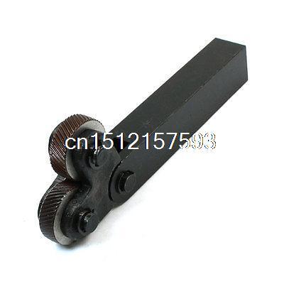 1.5mm Passo Inclinazione Doppia Ruota Denti Zigrinatura Strumento per Tornio Metallo1.5mm Passo Inclinazione Doppia Ruota Denti Zigrinatura Strumento per Tornio Metallo