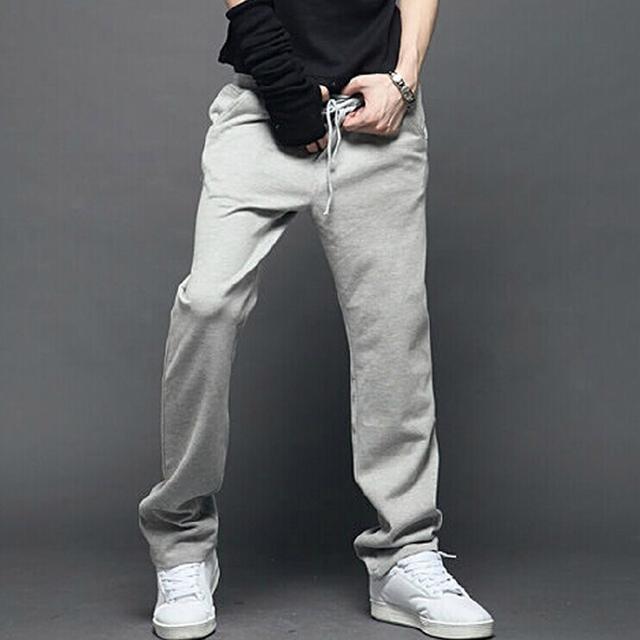Plus Tamaño de Los Hombres Flojos Ocasionales de los Pantalones Hombres Pantalones Multi Pocket General De Hombres Aire Libre Joggers Pantalones Lp08 Z10