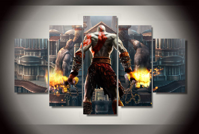 Hd printed god of war ascension kratos painting on canvas room hd printed god of war ascension kratos painting on canvas room decoration print poster picture canvas voltagebd Gallery