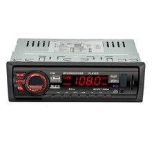 Новый 12 В автомобиля Радио MP3 аудио стерео плеер Bluetooth функции телефона Handfree USB SD MMC Порты и разъёмы автомобиля Радио Bluetooth в тире 1 DIN