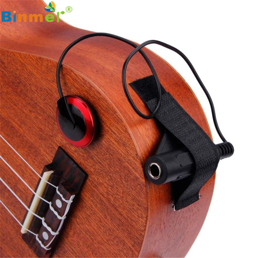 Akustisches Piezo Kontaktmikrofon für Gitarren Violine Mandoline Ukulele