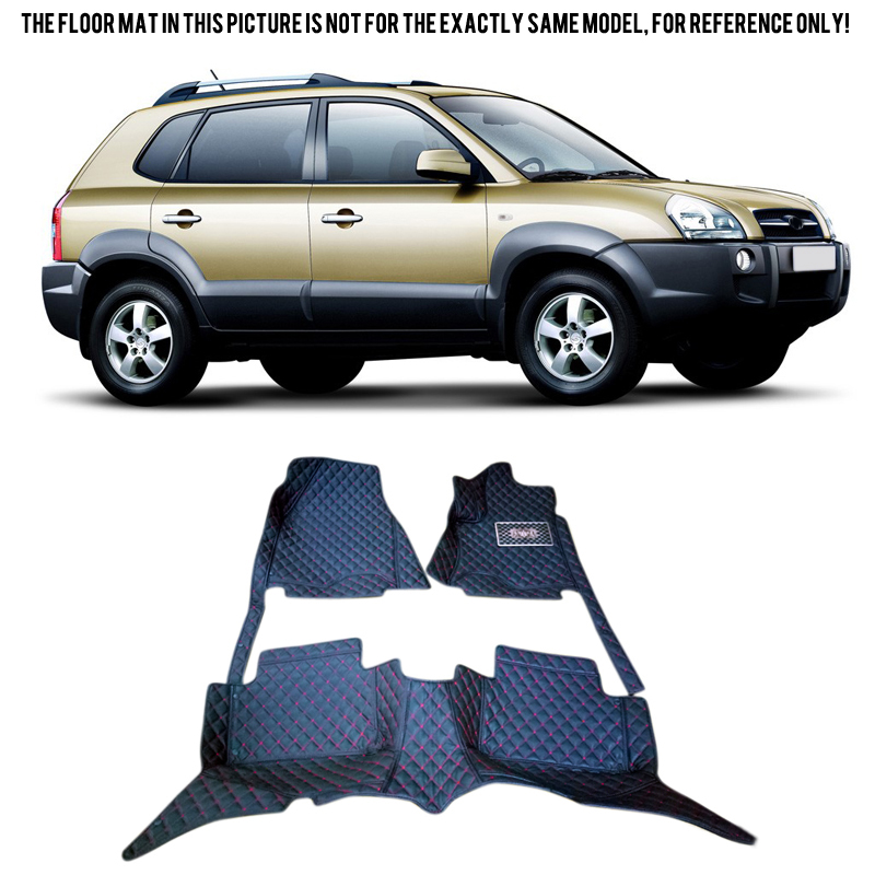 Inner <font><b>Accessories</b></font> Floor Mats & Carpets Foot Pads Protector Cover For <font><b>Hyundai</b></font> <font><b>Tucson</b></font> <font><b>2005</b></font>-2008 image