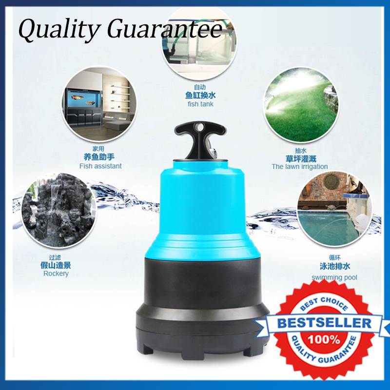 Multifunctional Electric Submersible Pump 5500L/H Pond Garden Water Pump 110W Small Circulating Pump 3 inch gasoline water pump wp30 landscaped garden section 168f gx160 agricultural pumps