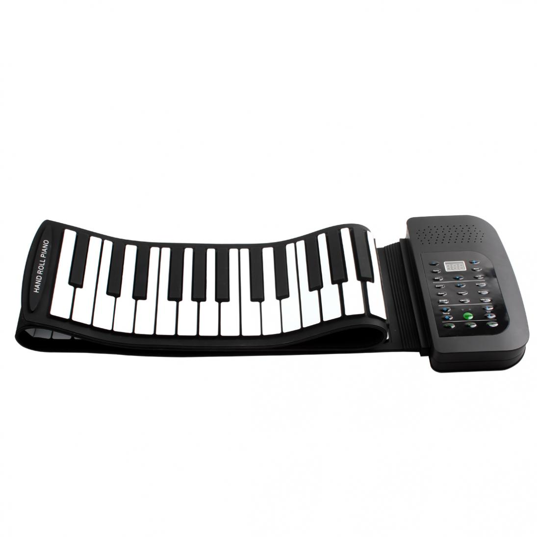 KONIX PA88 88 Keys MIDI Flexible 140 Tones Electronic Foldable Roll Up Folding Piano Built-in Speaker With Battery