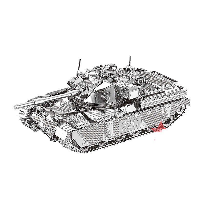 Nanyuan 3D Metal Puzzle Chief Tank MK50 Military Model DIY Laser Cut Assemble Jigsaw Toys Desktop Decoration GIFT For Audit