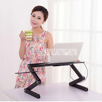 Laptop Computer Table Bed With Simple Folding Aluminum Dairies Lazy Little Desk Desk Desk Learning Table