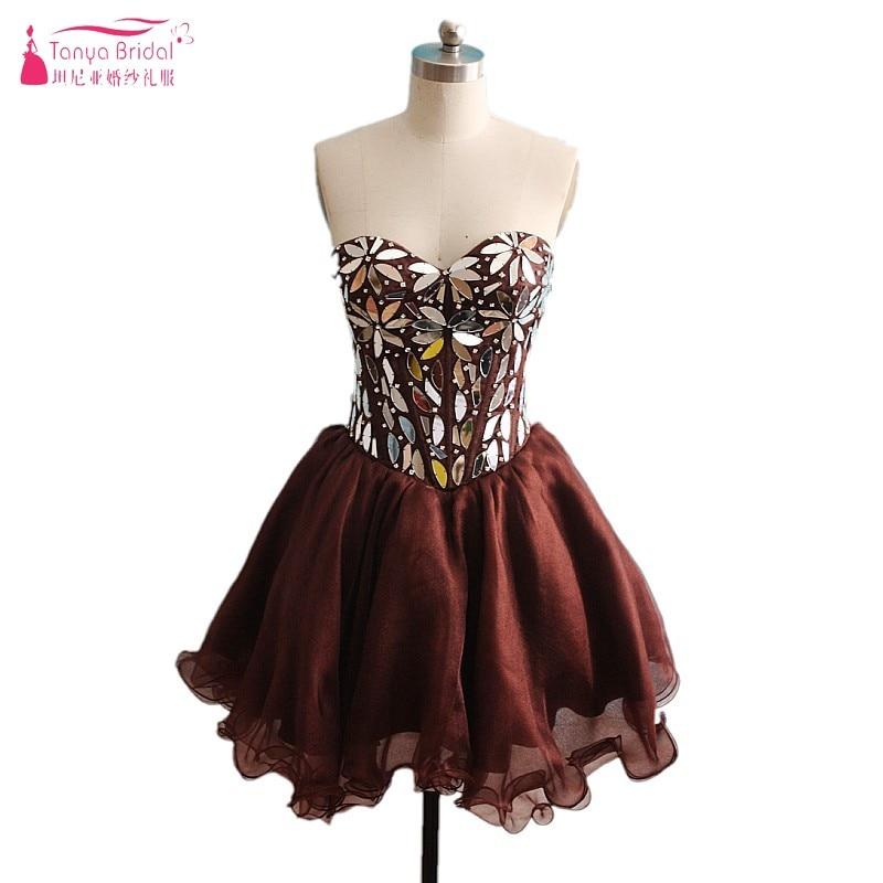 Fashion Burgund Graduation Dresses Kurzes Kleid Maß Homecoming Kleid Mezuniyet Elbiseleri Dqg215 Weddings & Events
