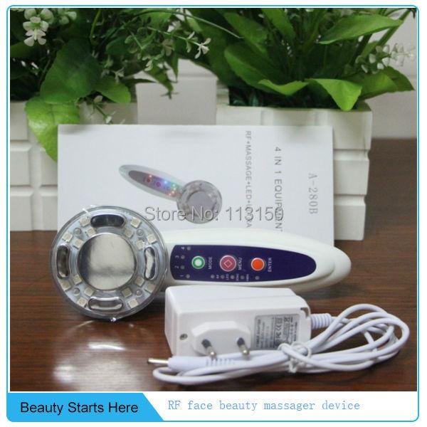 Profession 4IN1 Radio Frequency RF Sonic Vibrate Led Rejuvenation Photon Machine profession english in use medicine купить онлайн