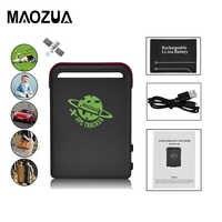 Maozua TK102 véhicule automatique GSM GPRS GPS traqueur voiture Gps localisateur localisation globale sur la vitesse alarme dispositif de suivi Tk102B Tracker