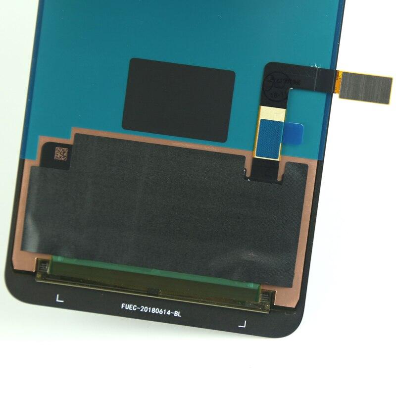 100% TEST pas de pixel mort pour Nokia 9 lcd affichage 2018 version pour téléphone portable lcd écran assemblage réparation remplacement noir - 6