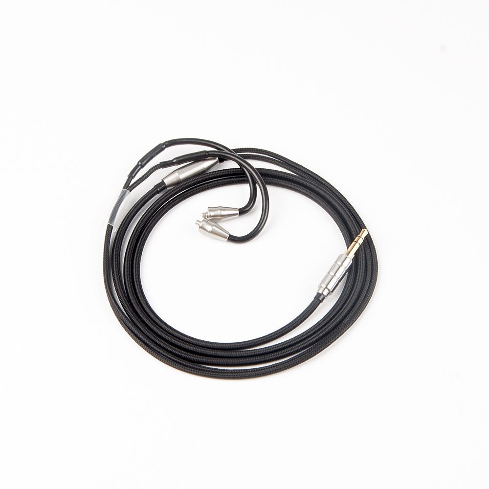 AK New Cloth Braided Cable Wire Upgraded 3.5mm Earphone Cable With ...