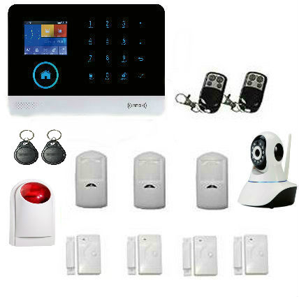 Yobang Security Wireless GSM&WIFI Smart Home Security Alarm Systems Kits Infrared Motion Sensor Door Alert with APP Control yobang security rfid gsm gprs alarm systems outdoor solar siren wifi sms wireless alarme kits metal remote control motion alarm