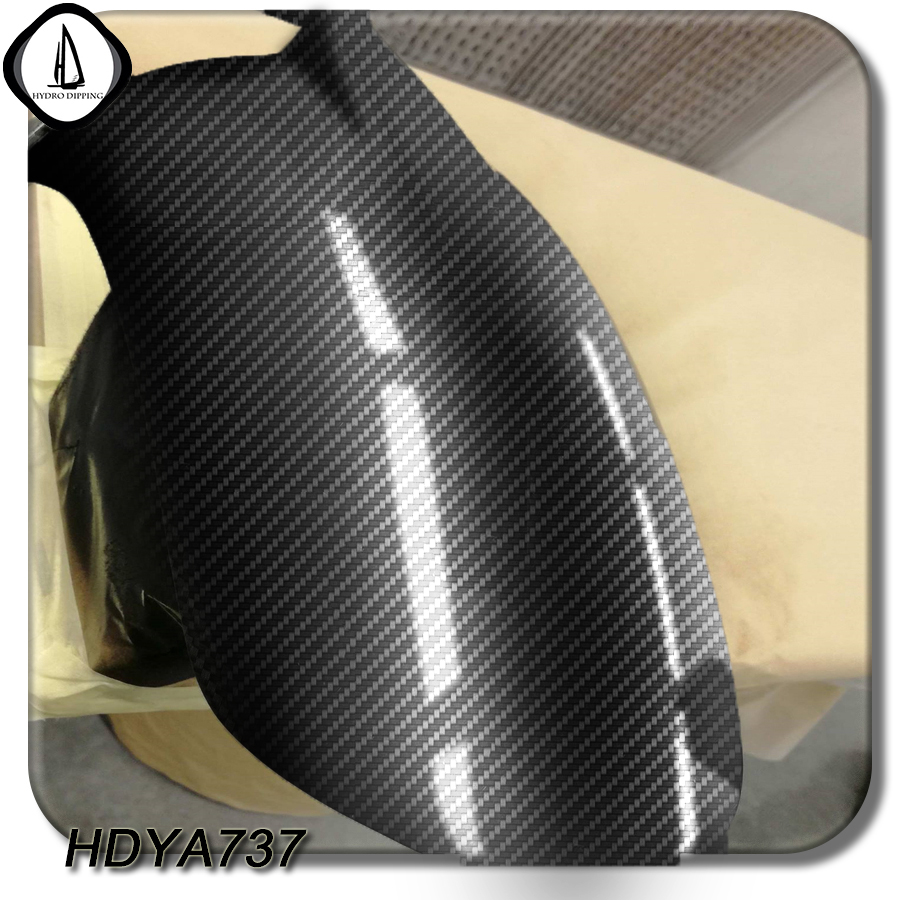 Free Shipping Carbon Fiber Pattern Hydro Dipping NO.HDYA737 Size 0.5M*2M Hydrographic PVA Film Water Transfer Printing Film