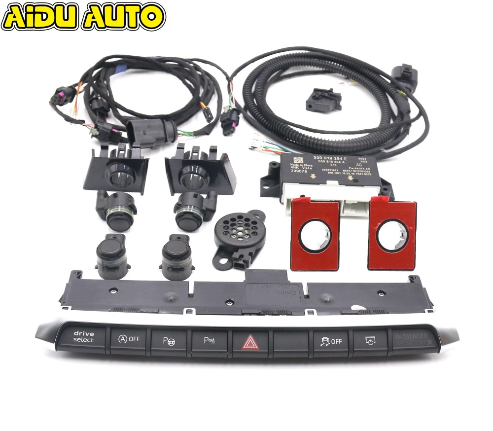 Front Parking Sensor Set Front PDC 8K OPS UPGRADE For AUDI A3 8V 2017 Faceift