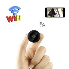 цена на HD 1080P Mini WiFi Camera Wide-angle Night Vision Tiny Cam Apartment Security Nanny Cam Motion Detection For iOS Android PC