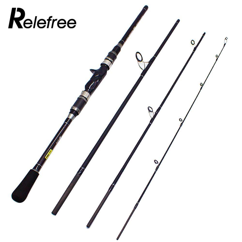 2.1M Super Hard Practical Sea Fishing Rod Sea Casting Rod Carbon Fiber Portable Fishing Poles River Saltwater Competition