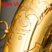 Новый французский тенор саксофон Mark VI золотой лак промежуточный Саксофон тенор Музыкальные инструменты Professional Included Case