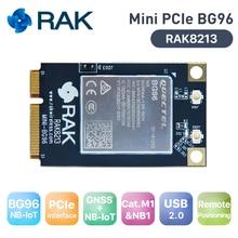 미니 pcie bg96 모듈 mpcie 셀룰러 iot 모듈 gnss + nb iot usb2.0 lte catm1 모듈, gps 안테나 지원 egprs low power149