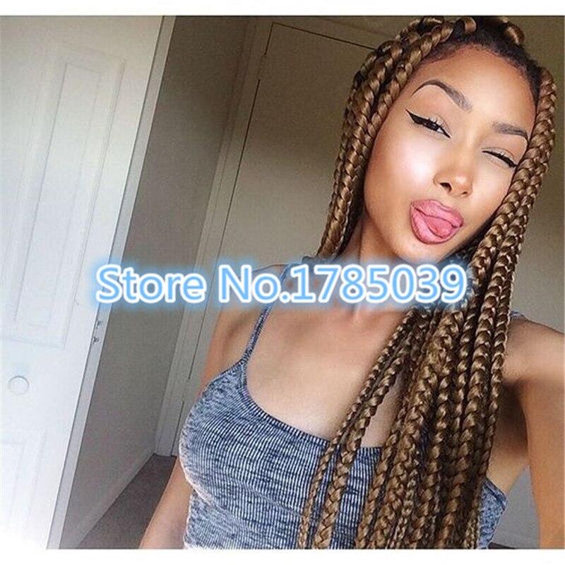 Crochet Mambo Braiding Hair Twist 3s Box Braid Twist Senegal Box