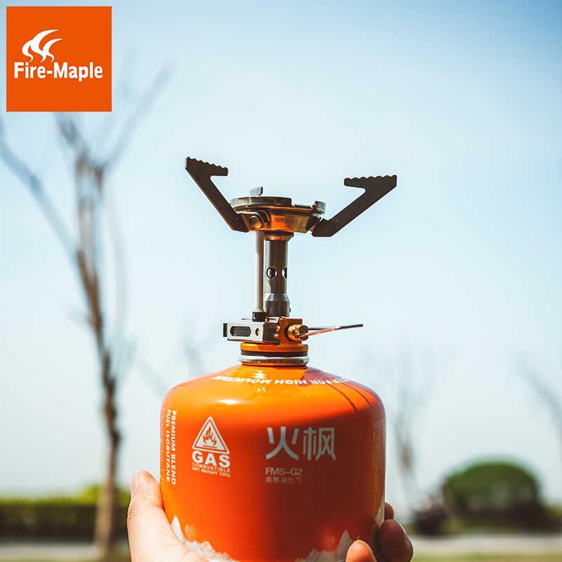 Газовая плита супер легкий мини Карманный Открытый кухонная горелка складной кемпинг газовая плита 2800 Вт с зажиганием