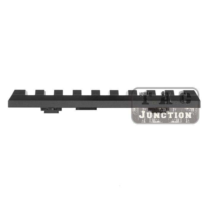 Tactique M-LOK 9 Slot Picatinny/Weaver Ferroviaire Segment En Aluminium Mount Adapter pour MLOK Handguard Têtière Section 4.1 pouce 105mm