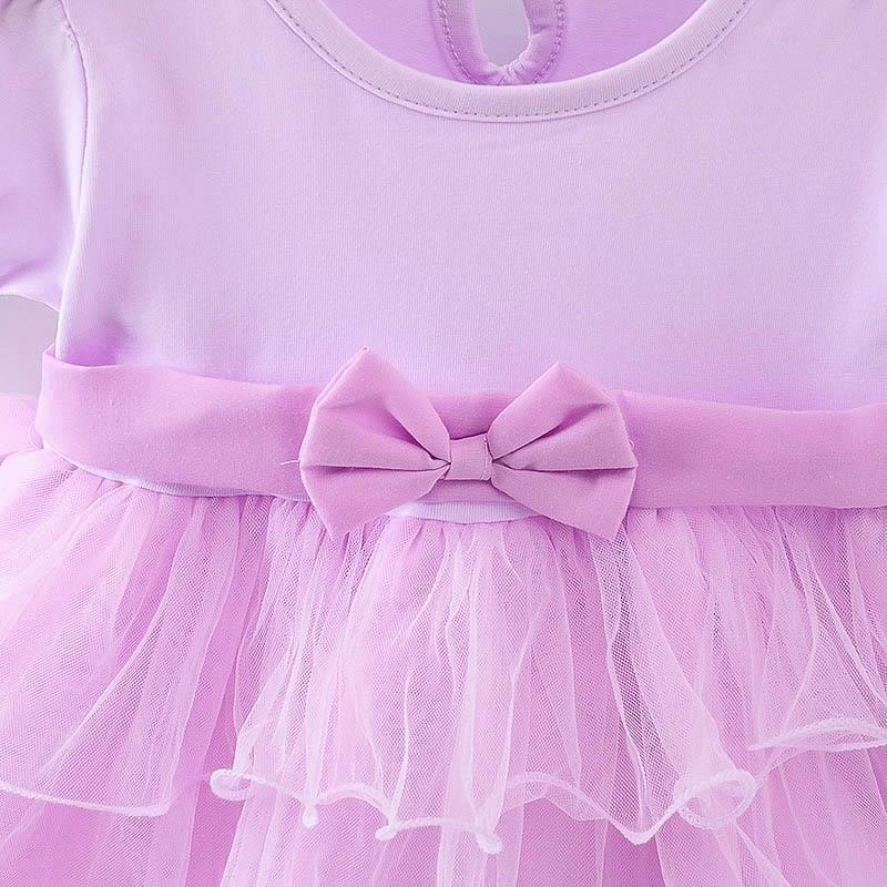 2017 Summer Childrens Clothing Sweet Girl Baby Dress Girl Bow Tie Dresses