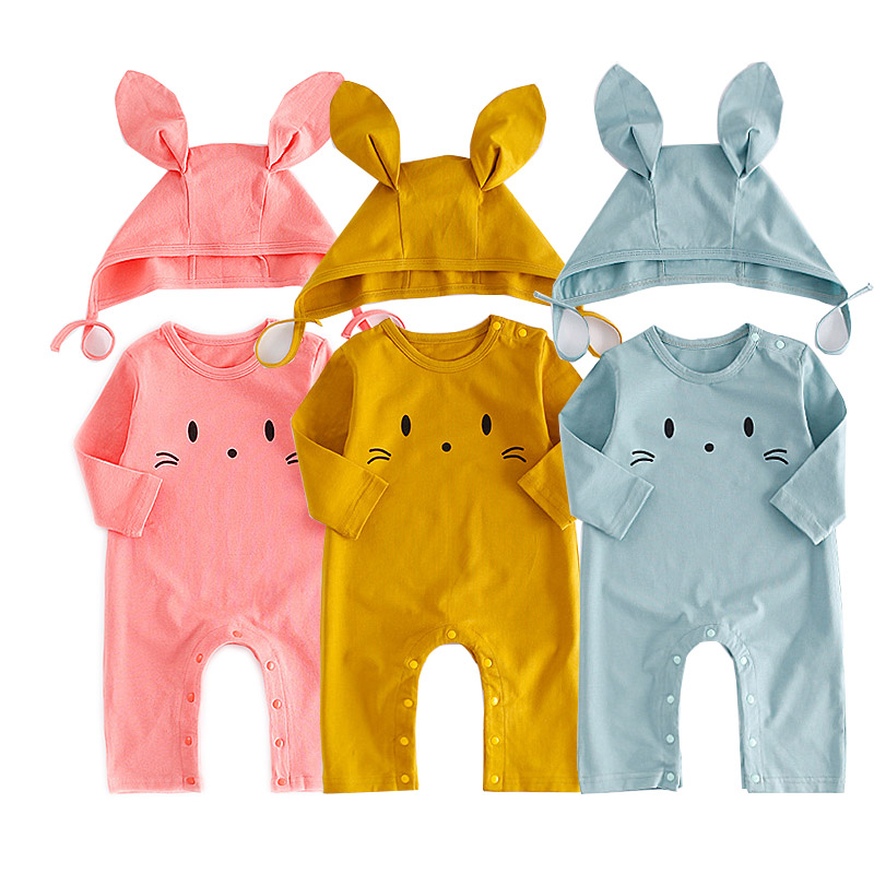 New Born Baby Girls Boys Autumn Clothes Sets Causa