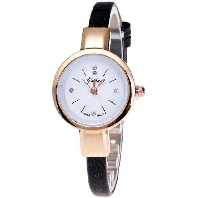 Minimalist Fashion Watches Women Retro Small Dial Casual Watch High Quality Wome