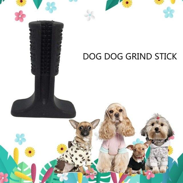 Tre Colori Doggy Bastone Pennello Creativo Silicone Cani Efficace Spazzolino Da Denti per Cani Animali Domestici Igiene orale Cane Spazzolino Da Denti Spazzolatura Bastone