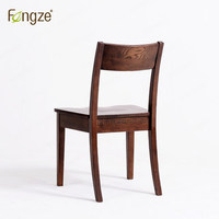 Fengze Furnishing FZ216 Dining Chair Solid Oak Modern Simple Country Style Armchair Living Room Dining Room