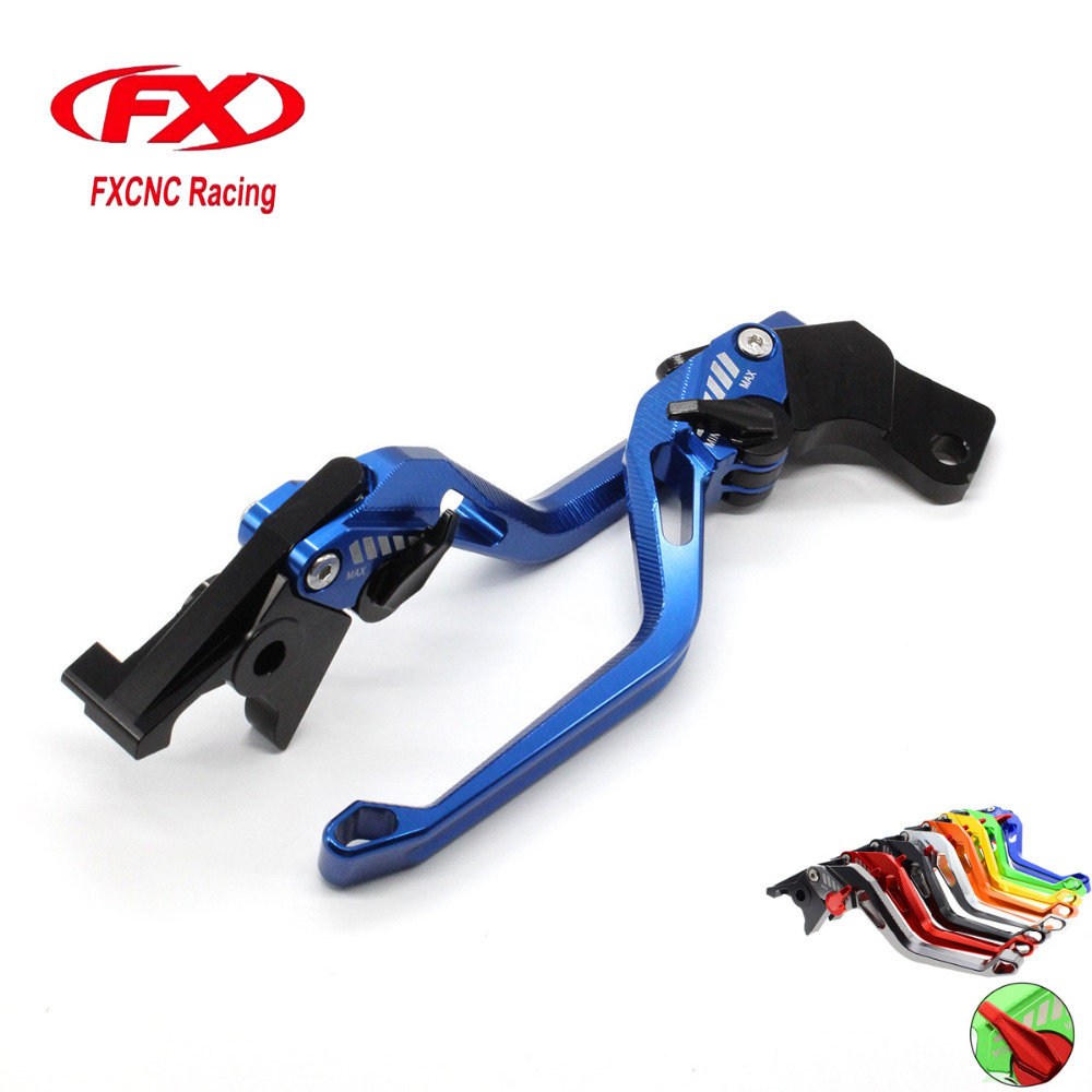 Fx aluminum new adjustable 3d rhombus motorcycle brake clutch lever for yamaha yfm 700 raptor 700r 2007 2017 yfm700 brake lever