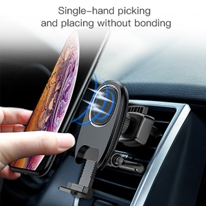 Image 5 - Metrans ユニバーサル磁気車電話ホルダー 360 回転エアベントアウトレット自動車電話マウントスタンドホルダーテレフォン tutucu