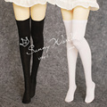 5PCS/LOT Wholesale SD BJD Doll Accessories Black/White Anti-staining 1/3 1/4 BJD Stockings