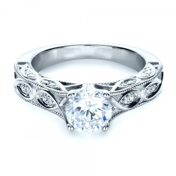 LASAMERO Antigo 1ct ASCD Simulado Anel de Diamante de Prata Esterlina 925 Anel De Casamento Jóias De Noivado Para As Mulheres