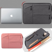 Men And Women Laptop Bag Notebook Computer Sleeve Bags Pocket Case Carrying Office Bussiness Travel Bag