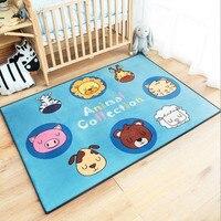 home Unicorn children's game pad baby climb carpet carton fox bear livingroom bedroom rug mat upset baby crawling MATS tapetes